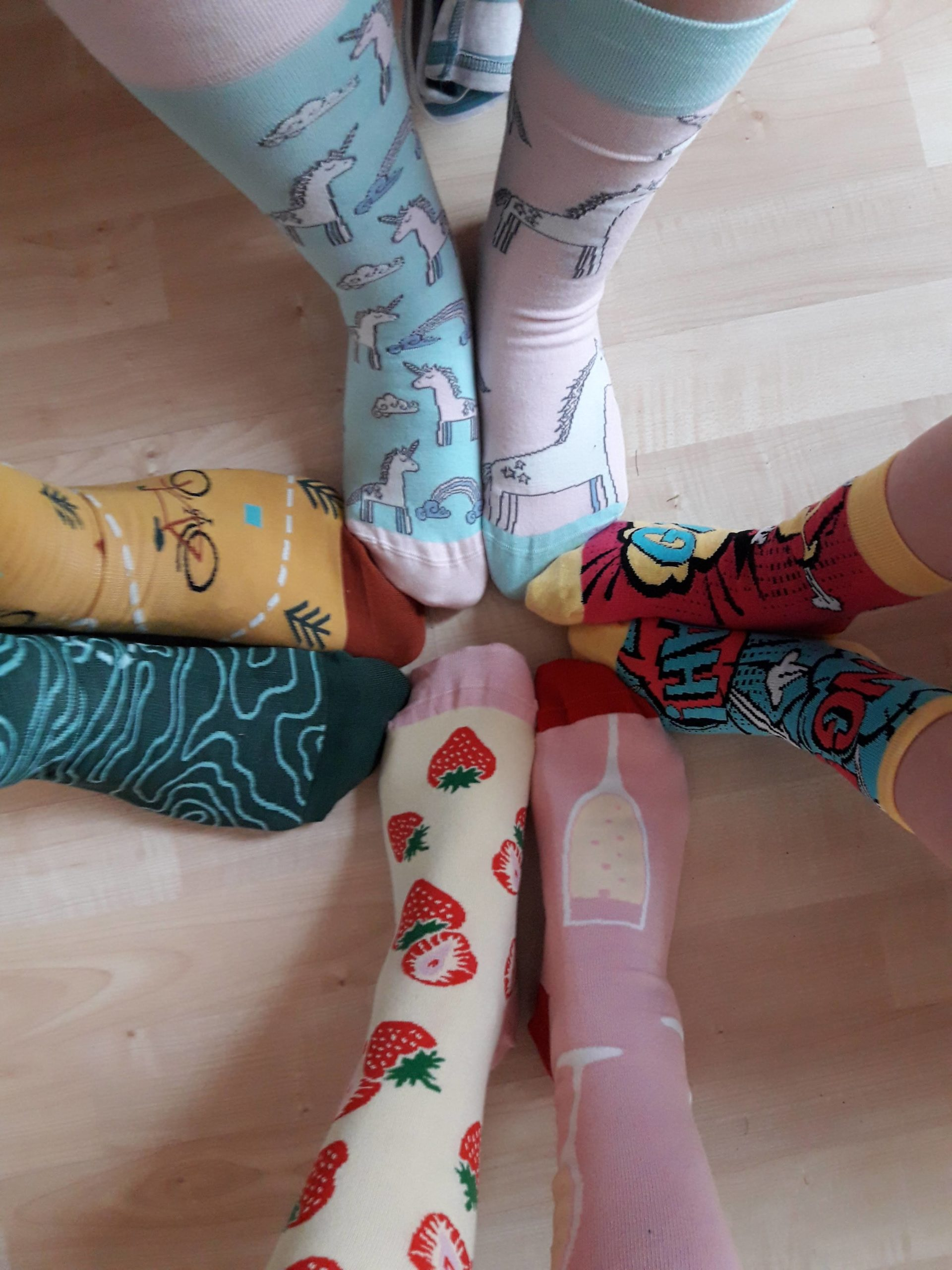 bunte Socken rocken