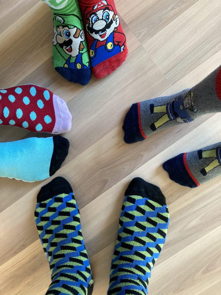 Socken Bild von Anja